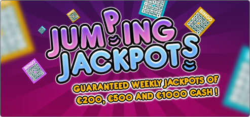 Jumping Jackpot at Bingocams