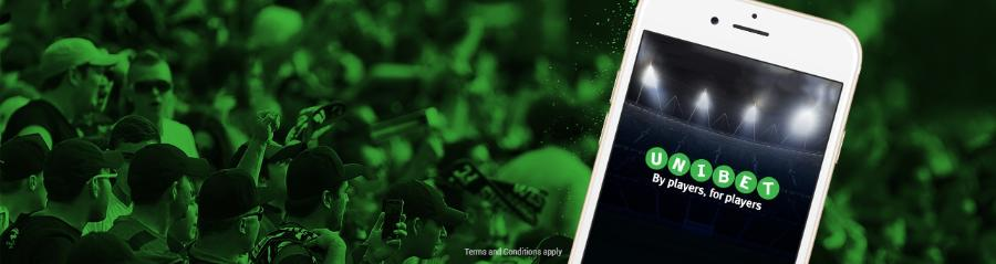 First €10 mobile bet risk free at Unibet